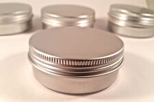 100 ps Cosmetic Cream Make Up Lip Jar Tin Container Screw 30ml/1oz storage screw