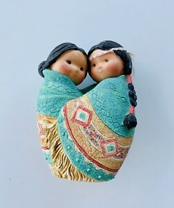 """FRIENDS OF THE FEATHER BY ENESCO """"LOVE FOR MANY MOONS"""" 1994"""
