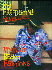 My Freedamn! 7 Vintage 1930s-50s Aloha Hawaiian Shirt Rockabilly Duke Kahanamoku