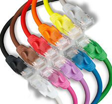 More details for ethernet cable cat5e network rj45 internet patch lan lead 12cm to 50m wholesale