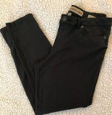 Nine West Vintage America Jeans Jagging Size 14/31 Dark Gray Missy