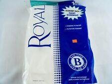 10 Pack Royal Type B Vacuum Filter Bags 2066247001