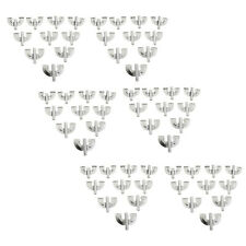 60 Pieces Iron Bass Drum Claw Hook Musical Instrument Parts Accessory