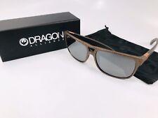 NEW DRAGON Copper Marble ROADBLOCK Sunglasses with Silver Lenses