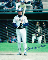 1982 BREWERS Jim Gantner signed photo 8x10 AUTO Autographed Milwaukee