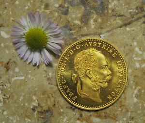 Österreich-Ungarn  1er Dukat  Franz Joseph    1915    Gold