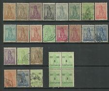Angola 1932/1946 - Ceres x 26 stamps used and mint