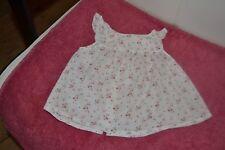 blouse bonpoint 6 mois legere avec petites fleurs