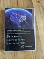 Mercedes Benz Navigation Update Comand 2018 North America USB