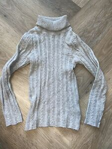 Next Grey Roll Neck 5-6 Years Polo Jumper