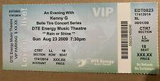 Kenny G Ticket 08/23/09 Detroit