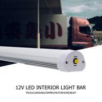 LED Interior Light Strip Bar Car Van Bus Caravan Camper Motorhome White 12 VOLT