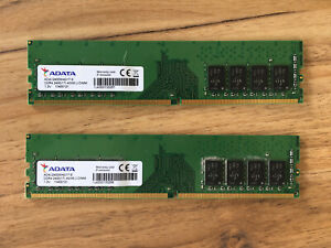 DDR4 2x4gb Desktop Memory, 2400Hz U-DIMM