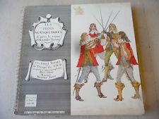 """LES TROIS MOUSQUETAIRES""""MAURICE JARRE-disco 33 giri EP+ BOOK Petit Fr 1960"""""""