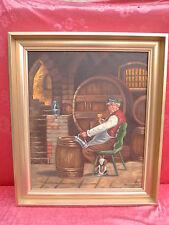 bello,vecchio dipinto__Im Cantina per vini___paolo Becker_