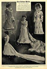 Aus den ersten Berliner Kostümateliers Neue Berliner Moden Modell-Puppen c.1900