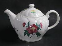 Laura-Ashley-Porcelain-Parfums-Teapot  White Pink Floral Gift