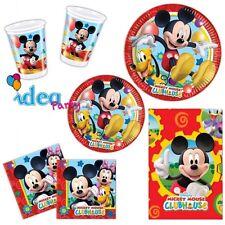 COORDINATO TAVOLA TOPOLINO addobbi Disney festa compleanno bambino set completo