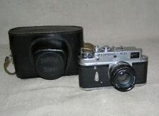 ZORKI-4К Black jupiter-8 Vintage Russian Soviet Camera 35 mm copy Leica  USSR