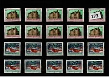 /// 10X NORWAY - MNH - ARCHITECTURE - EUROPA CEPT 1990 - WHOLESALE