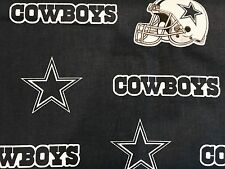 """DALLAS COWBOYS NFL 60"""" WIDE COTTON FABRIC BY THE 1/2 YARD Fabric Traditions B"""