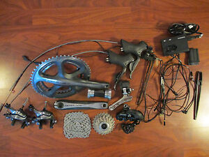 SHIMANO DURA ACE Di2 7970 ELECTONIC GROUP COMPLETE BUILD KIT 175 53/39 GRUPPO