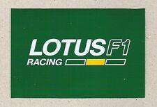 Lotus F1 Racing Sticker, Sports Car Racing Decal