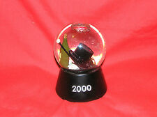 Millenium 2000 Waterglobe Snowdome Music Musical Box Tophat Champagne Auld Lang