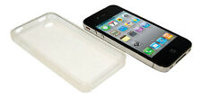 NEW THIN CLEAR SILICONE CASE COVER PROTECTOR FOR APPLE IPHONE 4 4G 4S UK SELLER