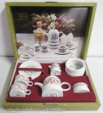 Melitta Friesisches Tee Set Melitta Jeverland Dekor Porzellan für 2 Personen OVP