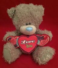 "ME TO YOU BEAR TATTY TEDDY 10"" LOVE YOU HEART BANNER BEAR LOVE HEARTS GIFT"