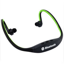 Black Sport Wireless Bluetooth Stereo Headphone Headset Earphone for iPhone 8 7