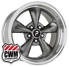 "OE Performance 106A 17 inch 17x8"" Silver Wheels Rims 5x4.75"" 4.50"" backspace +0"