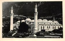 BURSA, TURKEY, ULU CAMI - THE GREAT MOSQUE OVERVIEW, REAL PHOTO PC c. 1930's
