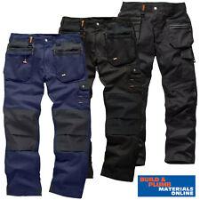 Scruffs Work Trousers Worker Plus Black / Navy - Flex Slim Fit Trouser Black