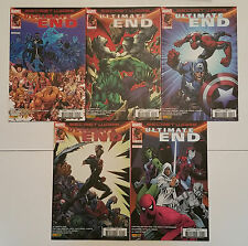 "Panini comics lot Secret Wars "" Ultimate End "" intégral 1 à 5"