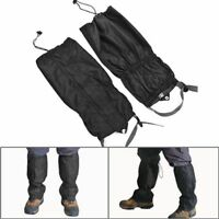 Waterproof Black Outdoor Climbing Hiking Snow Ski Gaiters Leg Cover Boot Legging