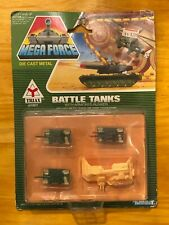 Kenner Mega Force Triax Army BATTLE TANKS w/ Armored Bunker NO.05010 NEW 1989