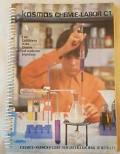 Sehr rares ANLEITUNGS- und GRUNDLAGENBUCH für CHEMIEBAUKASTEN KOSMOS C1/1970