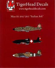Tigerhead Decals 1/72 MACCHI 202 & MACCHI 205 Fighters