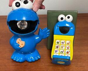 Little Tykes Cookie Monster Flashlight & Elmo Flip Phone, Sesamee Street