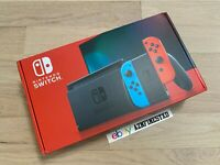 NEW SEALED Nintendo Switch Console Neon Blue & Red Joy-Con 32GB *IN HAND*