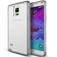 For Samsung Galaxy Note 4 New Case Slim Thin Clear Tpu Silicon Soft Back Cover
