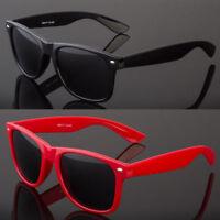 Polarized Anti Glare Classic Vintage Sunglasses Mens Womens Plastic Full Frame