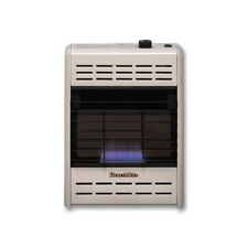 HearthRite Vent-Free Blue Flame Nat Gas Thermo Wall Heater 10,000 BTU HB10TN New