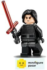 sw885 Lego Star Wars 75196 - Kylo Ren Minifigure with Lightsaber - New