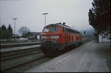 Originaldia DB 218 341 upper village 15.2.2002