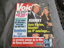 "RARE! REVUE ""VOICI - N°296"" Johnny HALLYDAY / Juillet 1993"