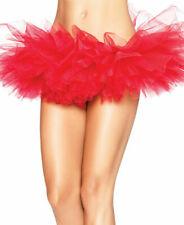 Leg Avenue Women's Organza Tutu, RED, One Size  A1705R NEW