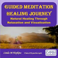 Guided Meditation CD Healing Journey Relaxation Healing Meditation  CD